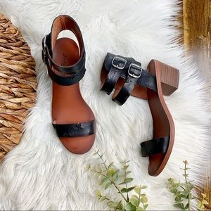 Lucky Brand Shoes - Lucky Brand | Leather Block Heel Sandals